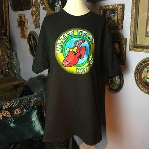 Little Feat Hoy Hoy! Vintage Black T-shirt XL